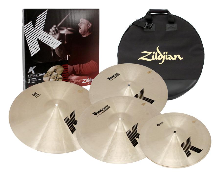 zildjian k series 5pc drum cymbal pack rainbow guitars. Black Bedroom Furniture Sets. Home Design Ideas
