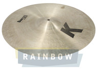 "Zildjian 20"" K Thin Dark Crash"