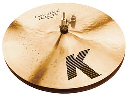 "Zildjian 14"" K Custom Dark Hi Hat Pair"
