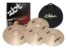 Zildjian ZBT 390 5pc Cymbal Pack Box Set