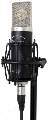 Mojave MA200 Tube Condenser Microphone, Designed by David Royer