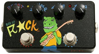 Zvex Box of Rock Dino Faceplate<BR>Namm Show Limited Edition