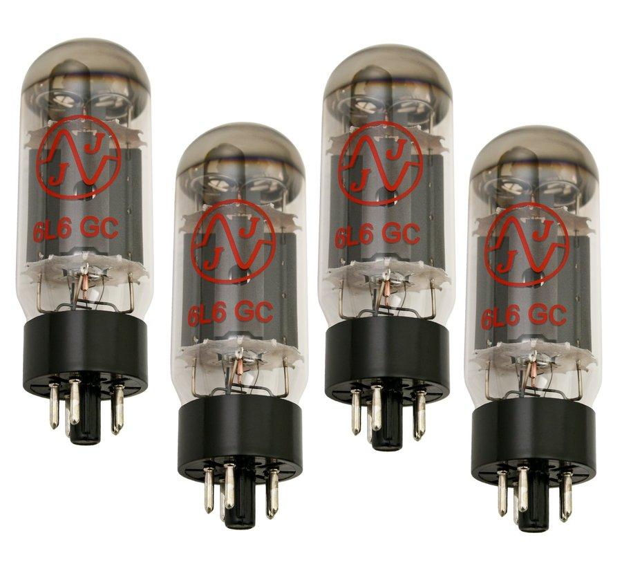 JJ Tesla 6L6GC Matched Quartet Tubes