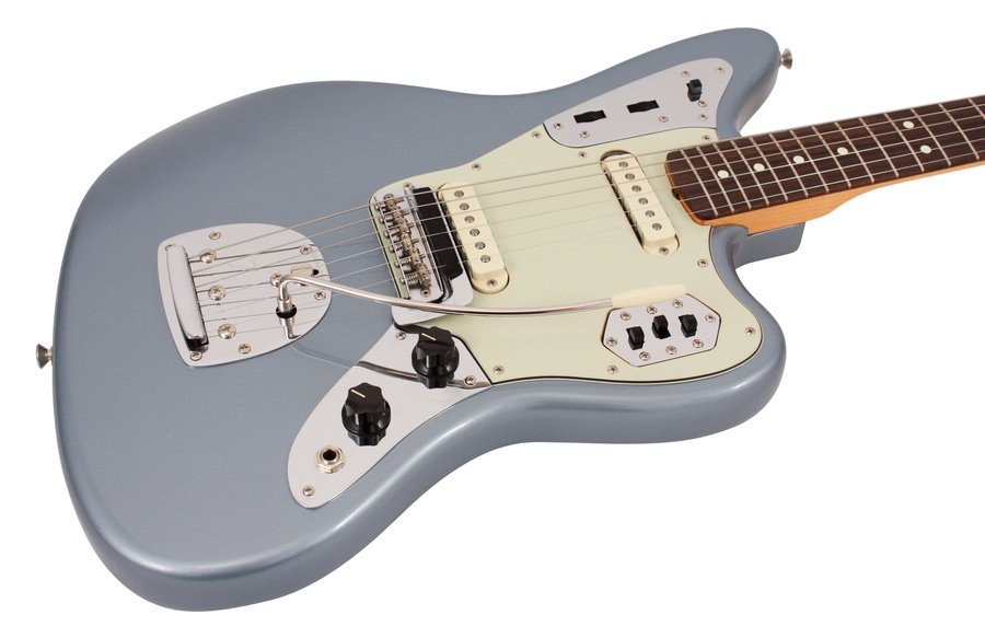 Fender Electric Guitar 62 Jaguar Ice Blue Metallic ...