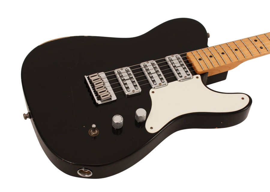 Fender Custom Shop Relic 3 Pickup La Cabronita LTD Black