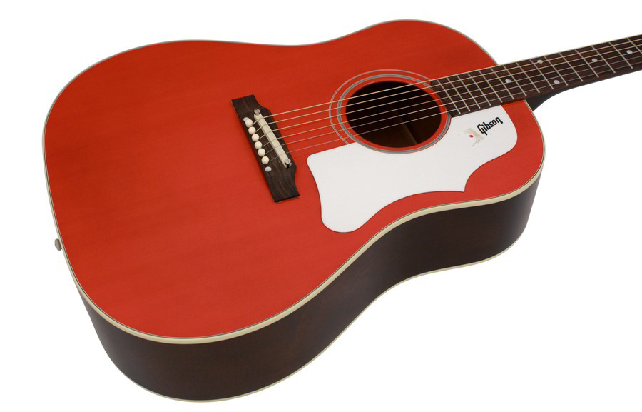 Gibson Montana 1968 Limited Edition J 45 Cherry