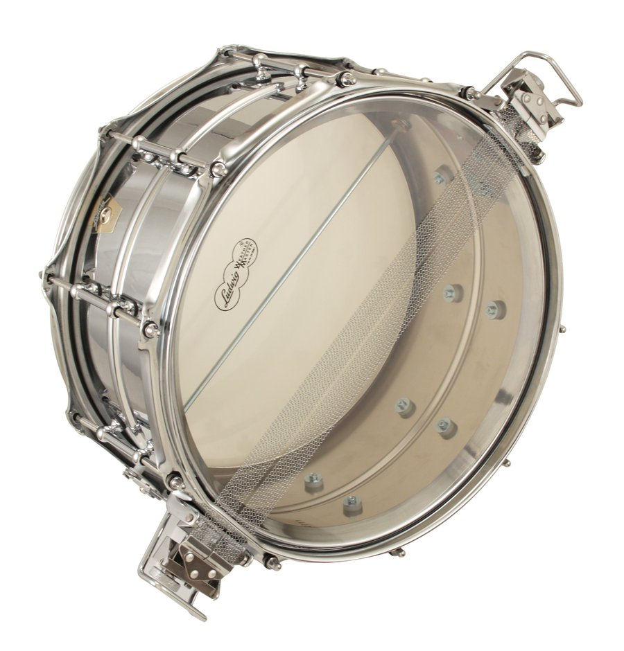 Pre-Owned Ludwig 6 1/2x14 Super Sensitive Metal Snare Drum