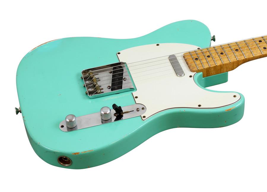 Pre-Owned Fender Custom Shop 52 Telecaster Relic Sea Foam Green 1997