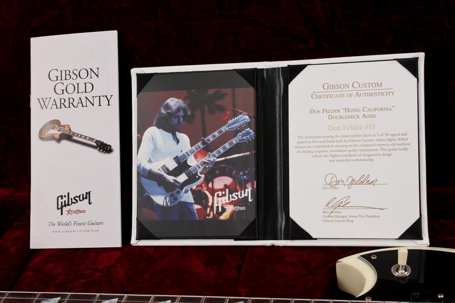 """Pre-Owned Gibson Custom Shop Don Felder """"Hotel California"""