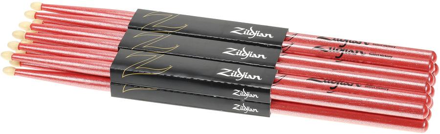 Metallic Paint Zildjian 5A Chroma Pink Drum Stick